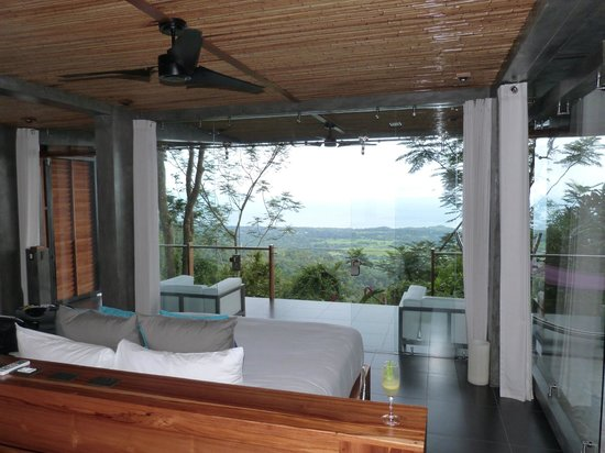 Kura Design Villas Uvita: view form junior villa