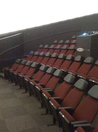 Museum of the Southwest: The new seats in the new dome at the Planetaium