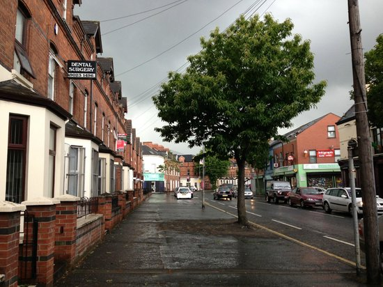 Springfield B&B: Quiet Street of Falls Road