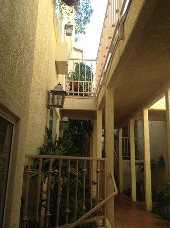 Casa Mariquita Hotel: second floor view
