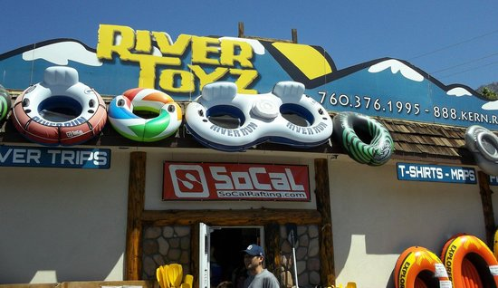 Tubing Down the Kern River - Picture of SoCal Rafting, Kernville