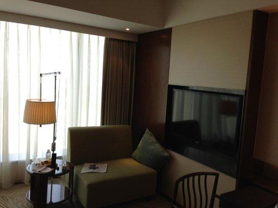 Mandarin Oriental Pudong, Shanghai : mini couch