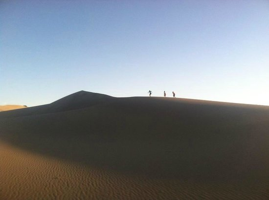 Bruneau Dunes State Park: racing to the top