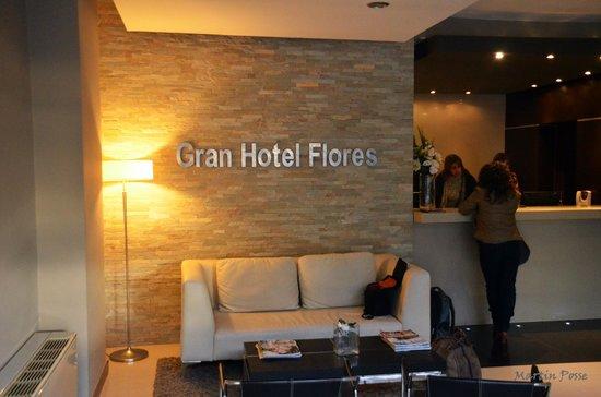 Gran Hotel Flores: Recepcion