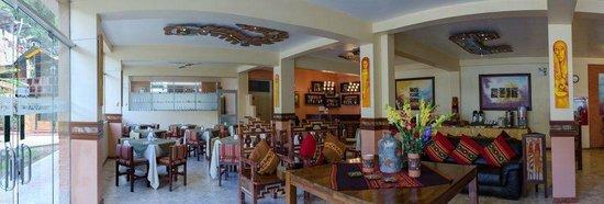 Taypikala Hotel Machupicchu: comedor