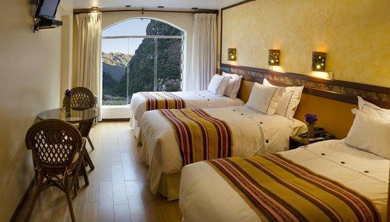 Taypikala Hotel Machupicchu: vista de la habitacion