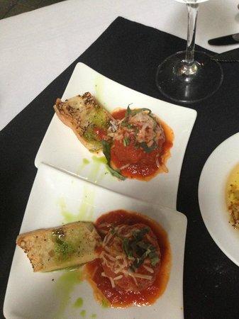 Timpano Chophouse and Martini Bar - Ft. Lauderdale: Meatball apetizer