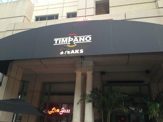 Timpano Chophouse and Martini Bar - Ft. Lauderdale: Timpano