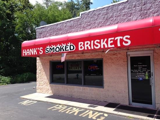 Hank's Smoked Briskets : Best smoked meat outside of Texas!