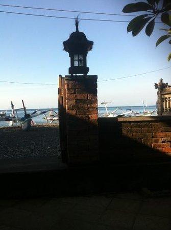 Depotrek Villas: aan het strand en direct bij koraalrif Amed
