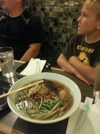 Everyday noodles: dan tsu noodle soup