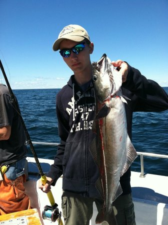 Captain Satch and Sons : Another nice pollock
