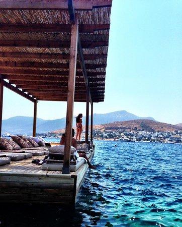 Macakizi Hotel Bodrum: Sea