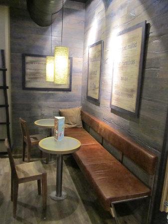 Espresso House: vista del salon