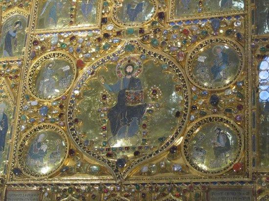 Pala d 39 oro detail picture of basilica di san marco for Pala de oro