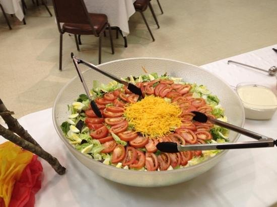 Whiteford's Giant Burger Incorporated: salad