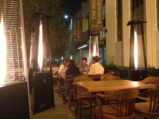 Bucato: outside patio