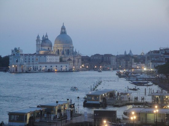Hotel Locanda Vivaldi: View from the rooftop restaurant