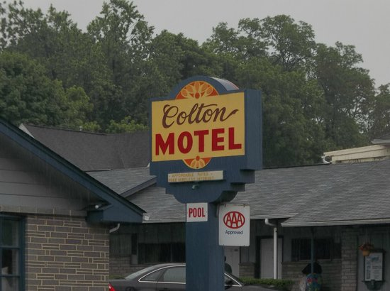 Colton Motel: AAA approved