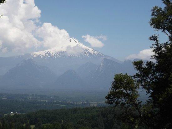 Mirador los Volcanes: El volcán, una hermosa vista!