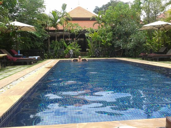 The Moon Boutique Hotel : piscina