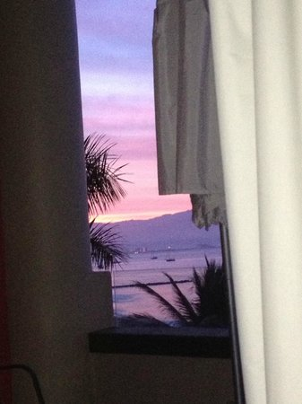 Villa Amor del Mar: View from bed in the morning