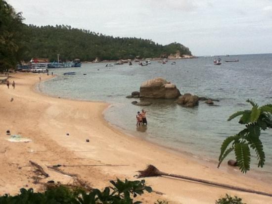 Queen Resort Koh Tao: vue depuis la chambre du bas