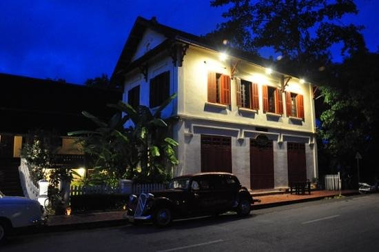Hotel 3 Nagas Luang Prabang MGallery by Sofitel: 3Nagas from the Restaurant