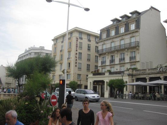 Mercure Biarritz Centre Plaza : Photo from the street