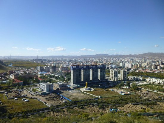 Zaisan Memorial: The view of UB
