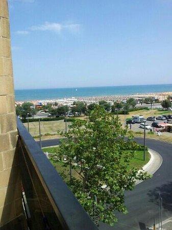 Hotel Airone : vista dalla camera