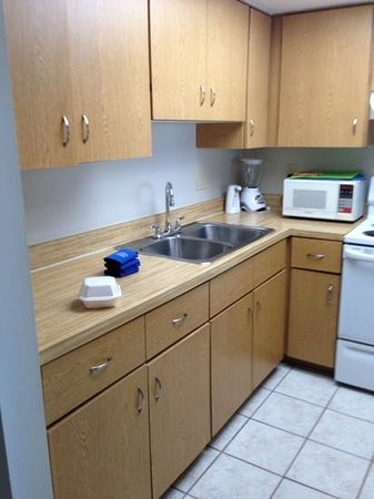 Gulfview Manor Resort: cozinha completa