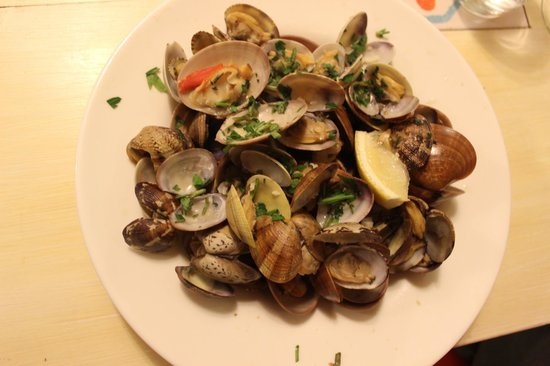 Cosmana Navarra : Mussels and clams