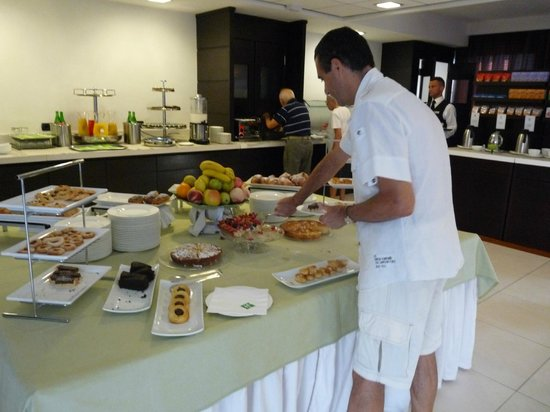 Holiday Inn Salerno-Cava De' Tirreni: buffet dolce