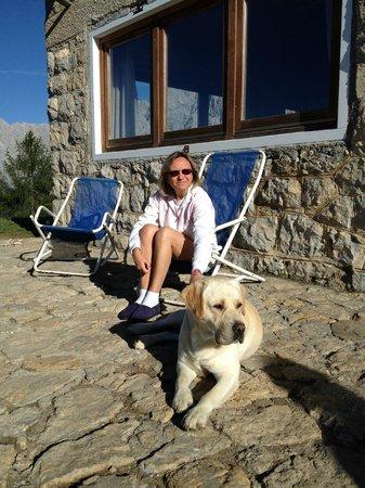Rifugio Alpino Dino e Giovanni Chiggiato: …anche Jack è un simpaticone