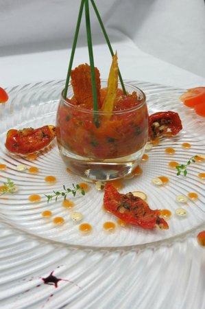 Hotel La Bonne Franquette : Pressé de tomate fraiche