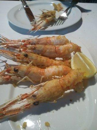 La Cantina : Cigalitas en tempura