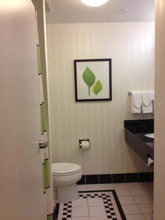 Fairfield Inn & Suites Omaha Downtown: bathroom