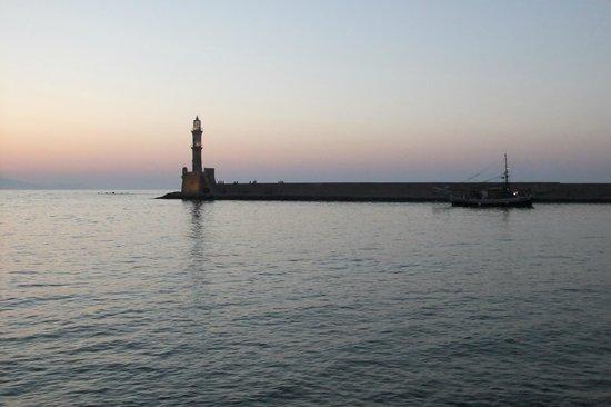 Hanim Lounge & Studios: Chania harbor, 3 min. walking distance