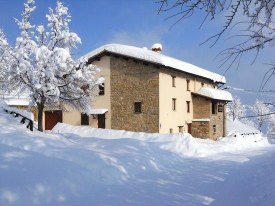 Agriturismo Le Castellare: in the snow