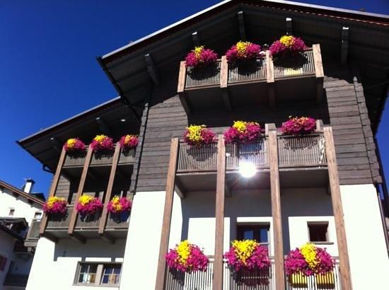 Facciata principale Hotel Marzia