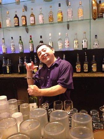 Ocean Maya Royale: My fav barman Gilardo , more tequila lol x