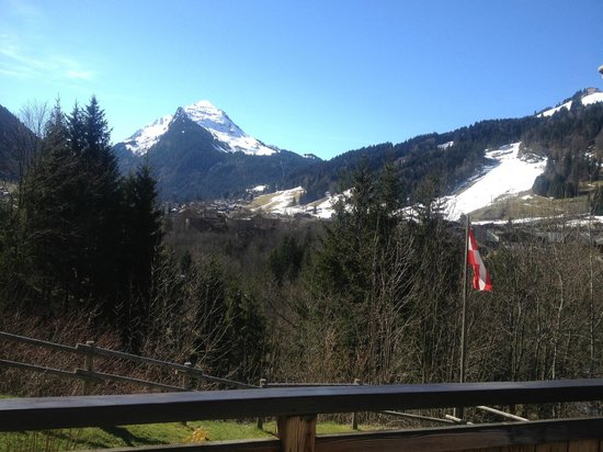 Chalet Alpine Refuge: View from dining table/balcony