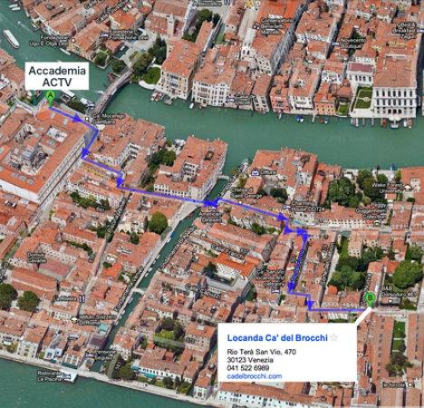 Locanda Ca' del Brocchi: Map