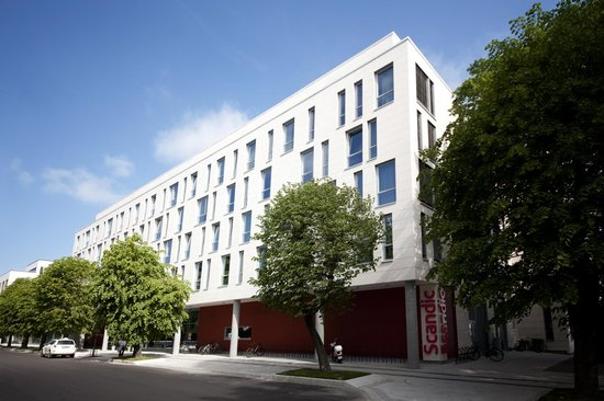 Scandic Kristiansand Bystranda: Entrence