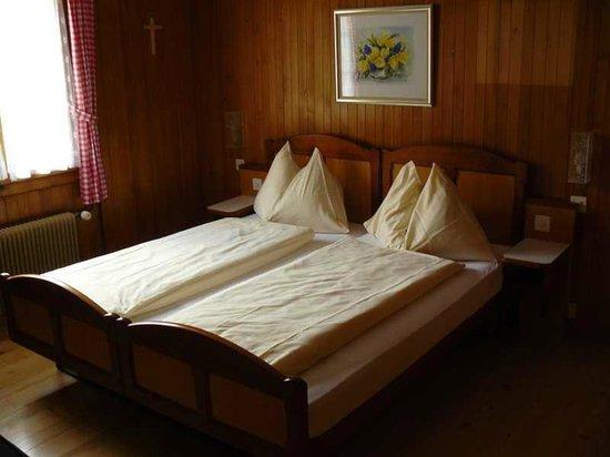 Gasthaus und Chalet Paxmontana: Zimmeransicht