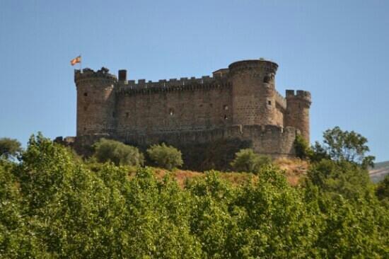 Mombeltran, Spania: Desde la carretera