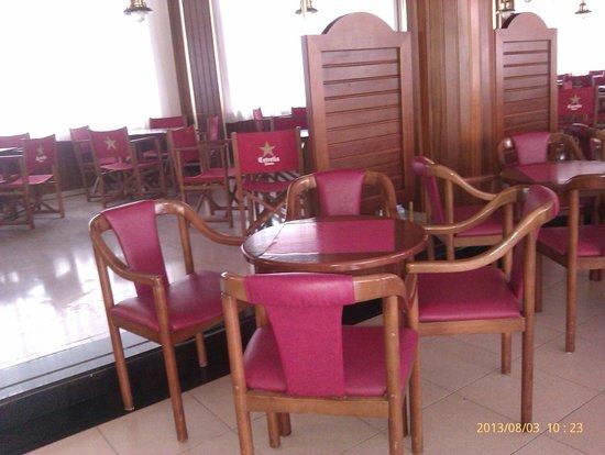 Hotel Marinada: Salón cafetería
