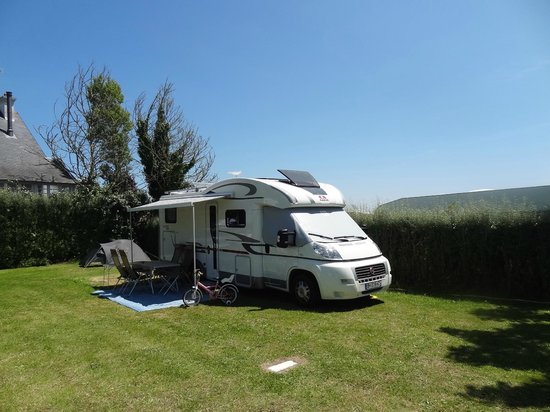 Camping du Letty : Emplacement