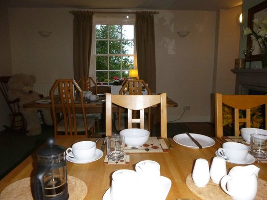 The Farmhouse at Yetholm Mill: The Dining Room